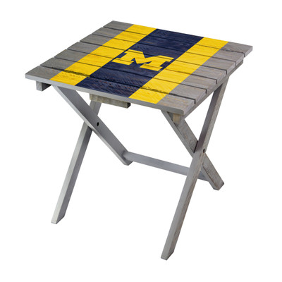 Michigan Wolverines Adirondack Folding Table | Imperial | IMP744-3009