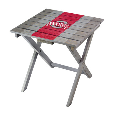 Ohio State Buckeyes Adirondack Folding Table | Imperial | IMP744-3015
