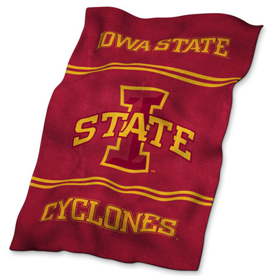 Iowa State Cyclones Ultrasoft Blanket | Logo Chair | 156-27