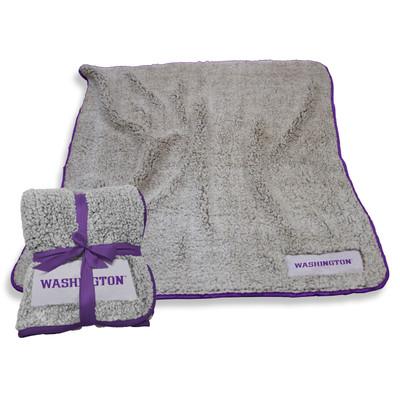 Washington Huskies Frosty Fleece Blanket | Logo Chair | 237-25F-1