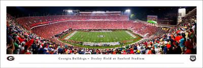 Georgia Bulldogs Stadium Panoramic Photo Print | Blakeway | UGA6