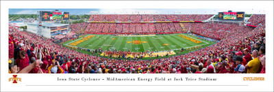 Iowa State Cyclones Stadium Panoramic Photo Print | Blakeway | IASU6