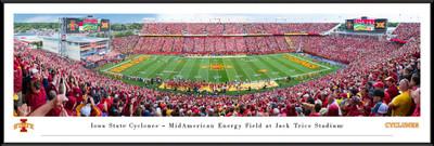 Iowa State Cyclones Stadium Panoramic Photo Standard Frame | Blakeway | IASU6F