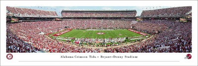Alabama Crimson Tide Stadium Panoramic Photo Print | Blakeway | UAL6