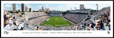 Georgia Tech Yellow Jackets Panoramic Stadium Photo Print | Blakeway | GAT2