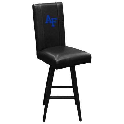 Air Force Academy Falcons Collegiate Bar Stool Swivel 2000 | Dreamseat | XZ2000BSSBLK-PSCOL13281