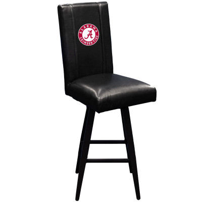 Alabama Crimson Tide Bar Stool Swivel 2000 | Dreamseat |XZ2000BSSBLK-PSCOL12070