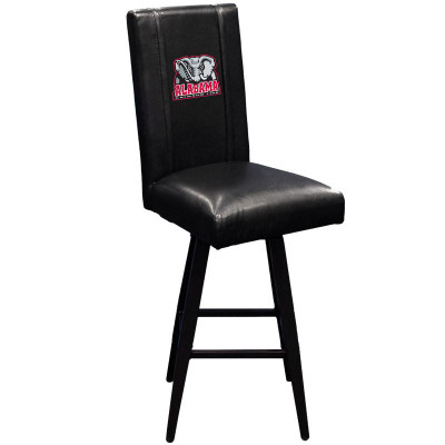 Alabama Crimson Tide Bar Stool Swivel 2000 | Dreamseat | XZ2000BSSBLK-PSCOL12074