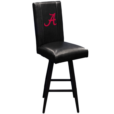 Alabama Crimson Tide Bar Stool Swivel 2000 | Dreamseat |XZ2000BSSBLK-PSCOL12071