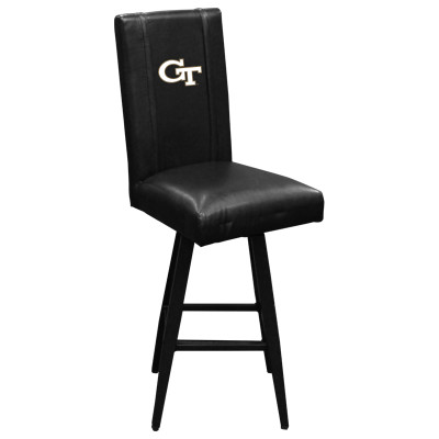 Georgia Tech Yellow Jackets Bar Stool Swivel 2000 | Dreamseat |XZ2000BSSBLK-PSCOL12080