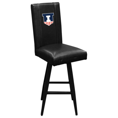 Illinois Fighting Illini Bar Stool Swivel 2000 | Dreamseat |XZ2000BSSBLK-PSCOL13600