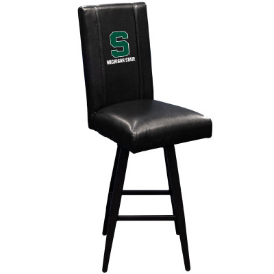 Michigan State Spartans Bar Stool Swivel 2000 |  Dreamseat |XZ2000BSSBLK-PSCOL13221