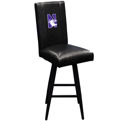 Northwestern Wildcats Bar Stool Swivel 2000 | Dreamseat |XZ2000BSSBLK-PSCOL13355