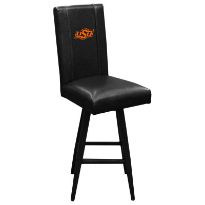 Oklahoma State Cowboys Bar Stool Swivel 2000 | Dreamseat | XZ2000BSSBLK-PSCOL13258