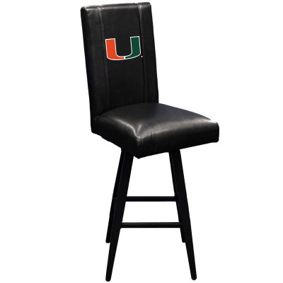 Miami HurricanesBar Stool Swivel 2000 | Dreamseat |XZ2000BSSBLK-PSCOL12110