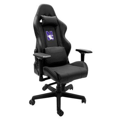 Northwestern Wildcats Logo Xpression Gaming Chair | Dreamseat |XZGCXPSNBLK-PSCOL13355