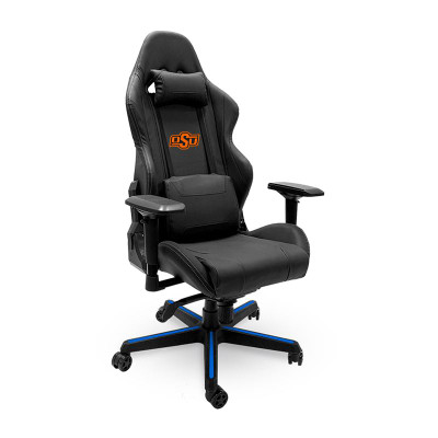 Oklahoma State Cowboys Logo Xpression Gaming Chair | Dreamseat | XZGCXPSNBLK-PSCOL13258