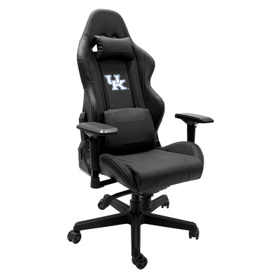Kentucky Wildcats Logo Panel Xpression Gaming Chair | Dreamseat |XZGCXPSNBLK-PSCOL13200