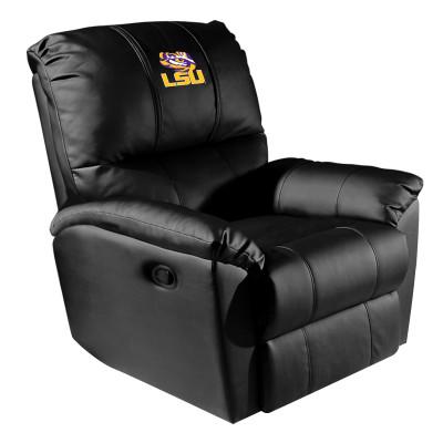 LSU Tigers Rocker Recliner | Dreamseat |XZ52031CDRRBLK-PSCOL13165