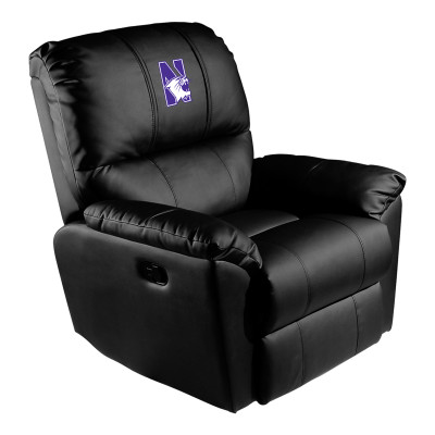 Northwestern Wildcats Rocker Recliner | Dreamseat |XZ52031CDRRBLK-PSCOL13355
