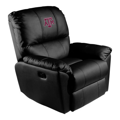 Texas A&M Aggies Rocker Recliner | Dreamseat |XZ52031CDRRBLK-PSCOL13170