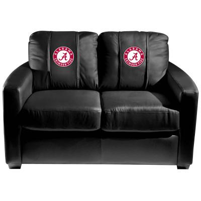 Alabama Crimson Tide  Silver Love Seat | Dreamseat | XZ7759003LSCDBK-PSCOL12070