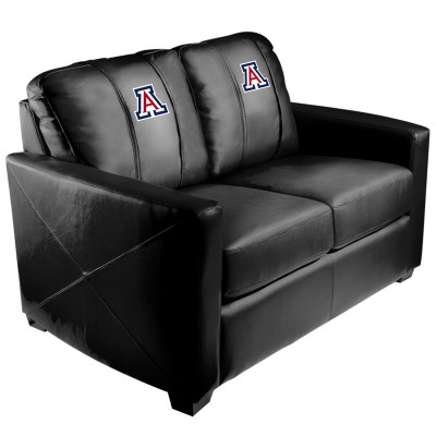 Arizona Wildcats  Silver Love Seat | Dreamseat | XZ7759003LSCDBK-PSCOL12100