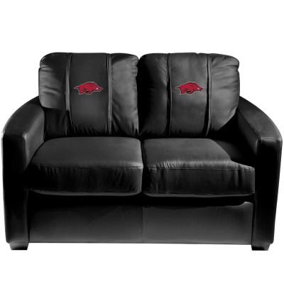 Arkansas Razorbacks  Silver Love Seat | Dreamseat | XZ7759003LSCDBK-PSCOL12015