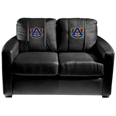 Auburn Tigers  Silver Love Seat | Dreamseat | XZ7759003LSCDBK-PSCOL13465
