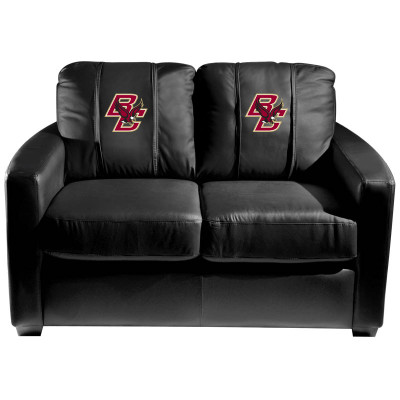 Boston College Eagles  Silver Love Seat | Dreamseat | XZ7759003LSCDBK-PSCOL13420