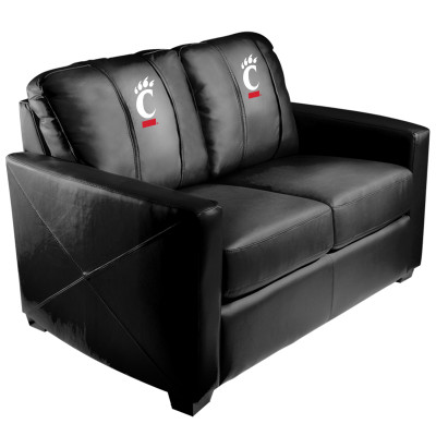 Cincinnati Bearcats  Silver Love Seat | Dreamseat | XZ7759003LSCDBK-PSCOL13555