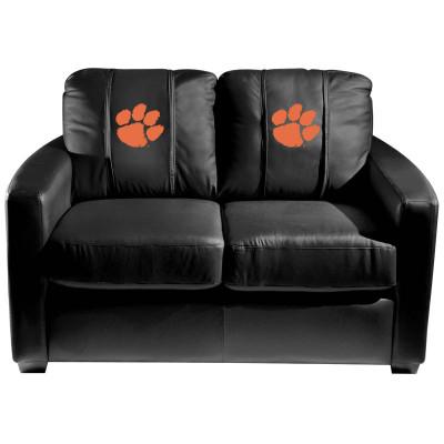 Clemson Tigers  Silver Love Seat | Dreamseat | XZ7759003LSCDBK-PSCOL12130
