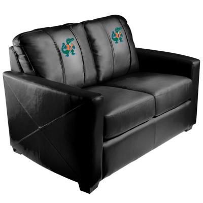 Florida Gators Albert  Silver Love Seat | Dreamseat | XZ7759003LSCDBK-PSCOL11021