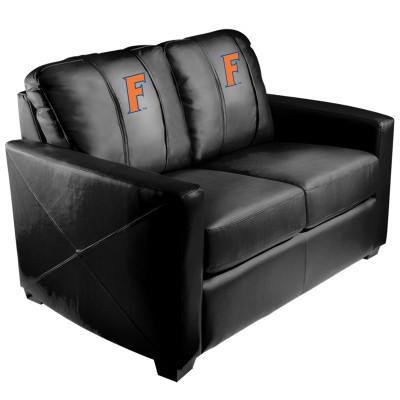 Florida Gators Block F  Silver Love Seat | Dreamseat | XZ7759003LSCDBK-PSCOL11022