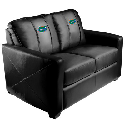 Florida Gators  Silver Love Seat | Dreamseat | XZ7759003LSCDBK-PSCOL11020