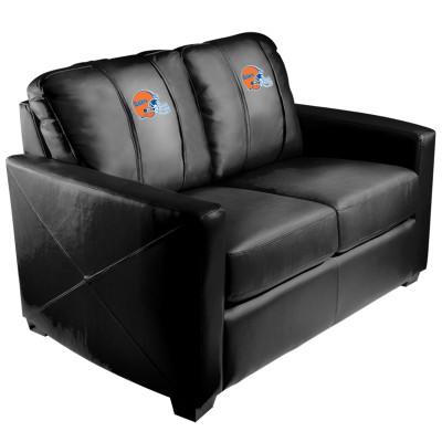 Florida Gators Helmet  Silver Love Seat | Dreamseat | XZ7759003LSCDBK-PSCOL11023