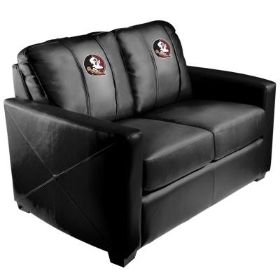 FSU Seminoles  Silver Love Seat | Dreamseat | XZ7759003LSCDBK-PSCOL13471