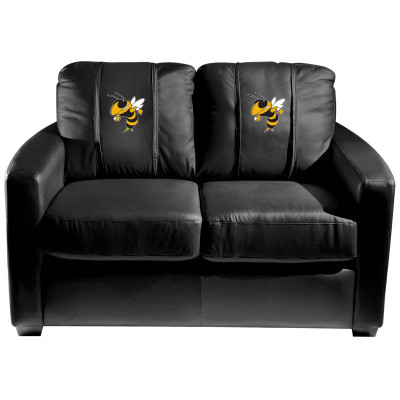 Georgia Tech Yellow Jackets  Silver Love Seat with Buzz logo | Dreamseat | XZ7759003LSCDBK-PSCOL12081