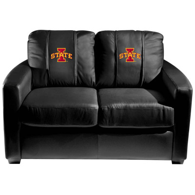 Iowa State Cyclones  Silver Love Seat | Dreamseat | XZ7759003LSCDBK-PSCOL13065