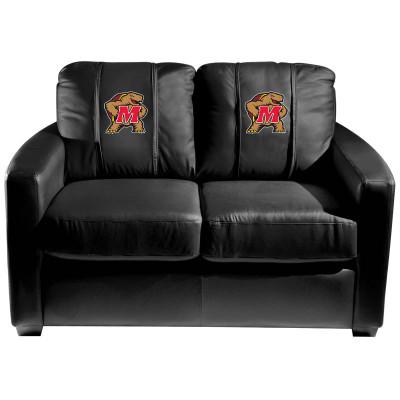 Maryland Terrapins  Silver Love Seat | Dreamseat | XZ7759003LSCDBK-PSCOL13240