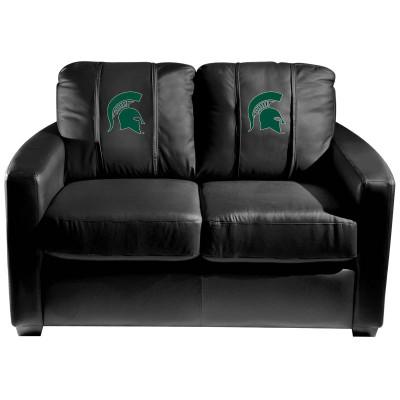 Michigan State Spartans  Silver Love Seat | Dreamseat | XZ7759003LSCDBK-PSCOL13220