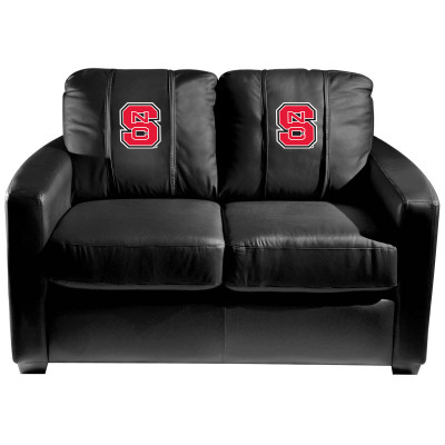 NC State Wolfpack  Silver Love Seat | Dreamseat | XZ7759003LSCDBK-PSCOL13625