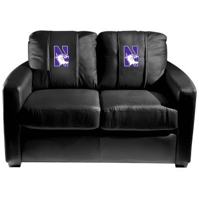 Northwestern Wildcats  Silver Love Seat | Dreamseat | XZ7759003LSCDBK-PSCOL13355