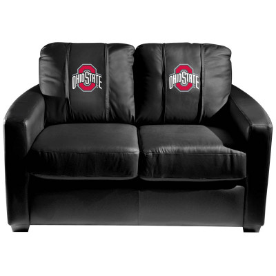 Ohio State Buckeyes Primary Silver Love Seat | Dreamseat | XZ7759003LSCDBK-PSCOL11053