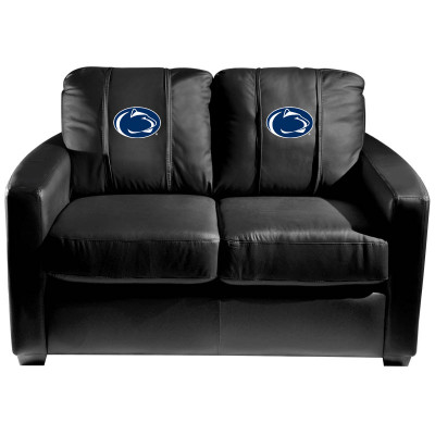 Penn State Nittany Lions  Silver Love Seat | Dreamseat | XZ7759003LSCDBK-PSCOL13210