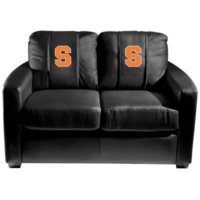 Syracuse Orange  Silver Love Seat | Dreamseat | XZ7759003LSCDBK-PSCOL13265