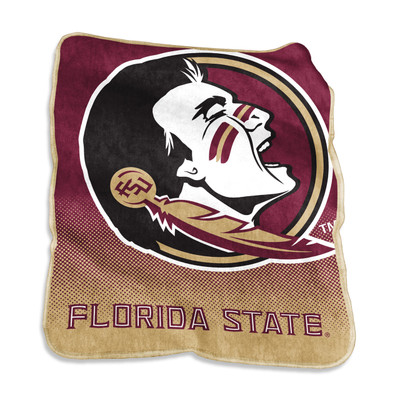 FSU Seminoles Raschel Throw Blanket | Logo Chair | 136-26A