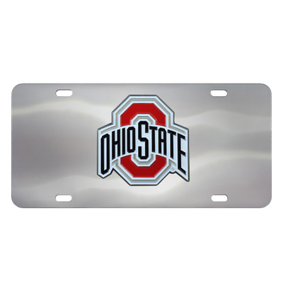 Ohio State Buckeyes Diecast License Plate   Fanmats   25708
