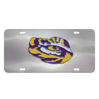 LSU Tigers Diecast License Plate | Fanmats | 26922