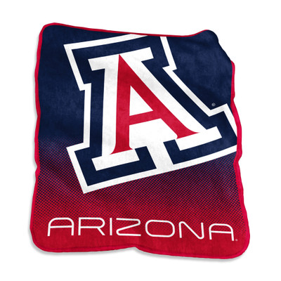 Arizona Wildcats Raschel Throw Blanket | Logo Chair | 106-26A